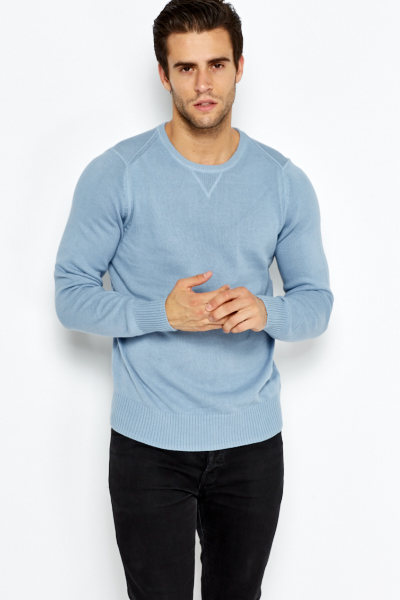 Casual Round Neck Sweatshirt