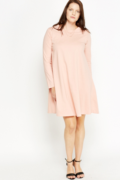 Light Pink Swing Dress