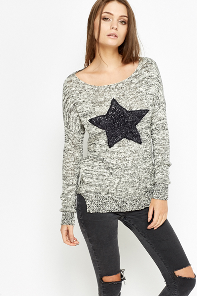Speckled Star Sweater