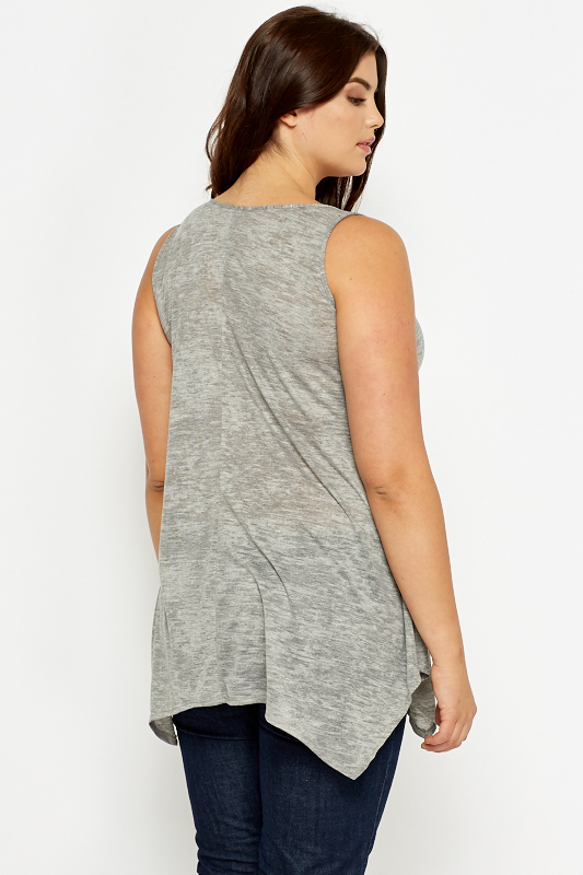 Grey A-Line Paradise Lost Tunic