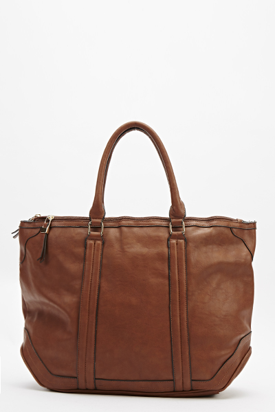 Double Zip Tote Bag