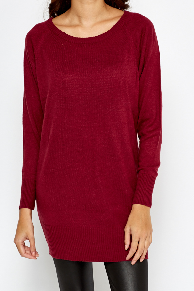 Oversize Long Line Jumper