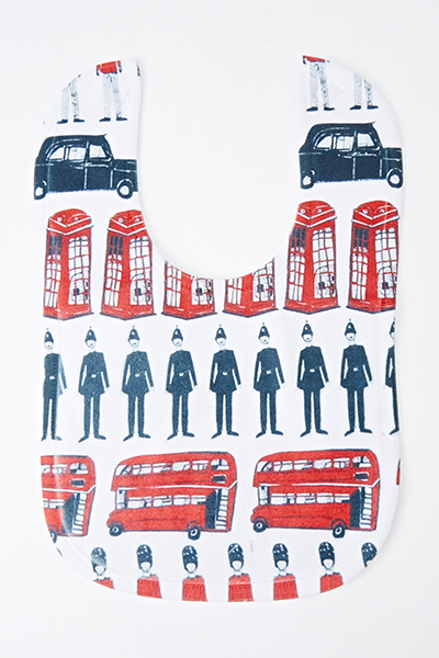 London Theme Bib
