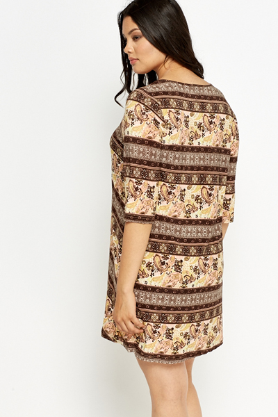 Mix Ornate Swing Tunic