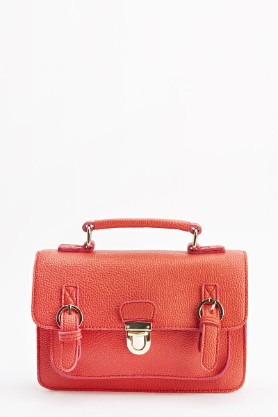 Mini Contrast Trim Satchel