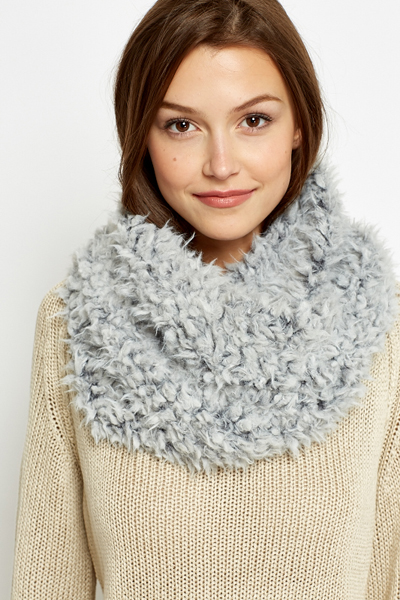 Faux Fur Fluffy Snood