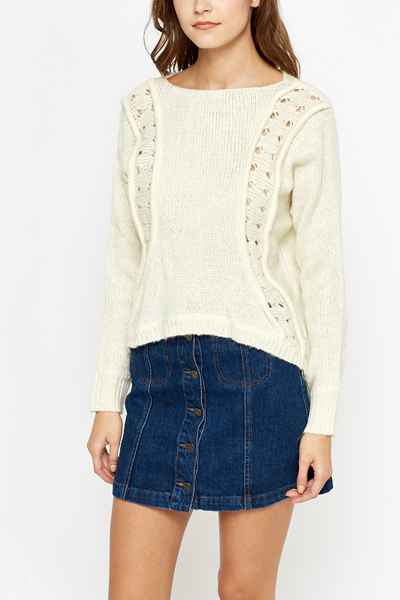 Dip Back Knit Jumper