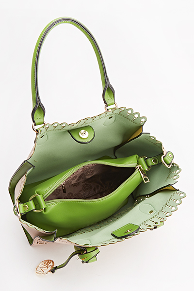 Cut Out Front Handbag
