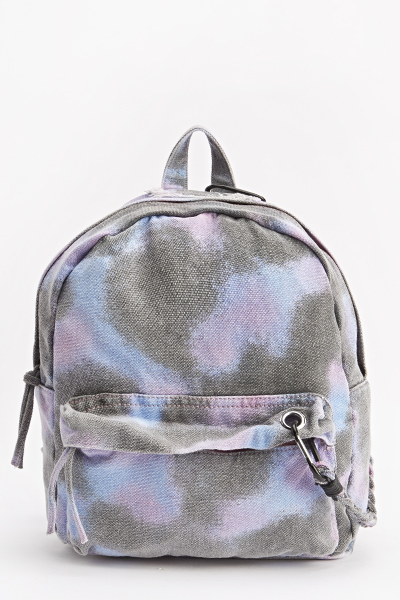 Dip Dye Wash Out Denim Back Pack