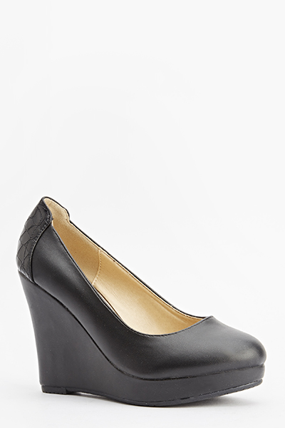 Mock Crock Back Wedges