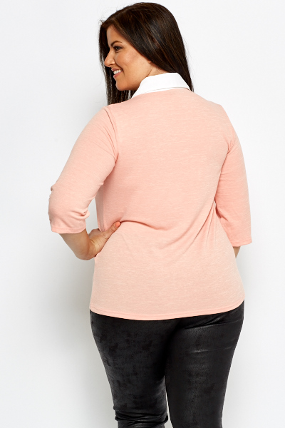 Shirt Insert Speckled Top