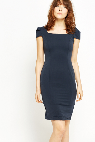 ba950f35661c Ruched Cap Sleeve Dress - Just £5