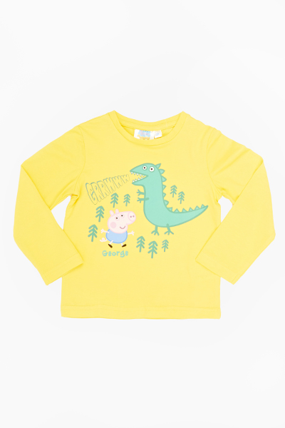 Yellow George Pig Top