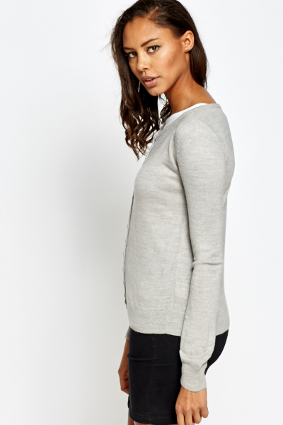 Soft Knit Formal Cardigan
