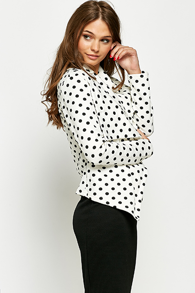 Mono Spotty Waterfall Jacket