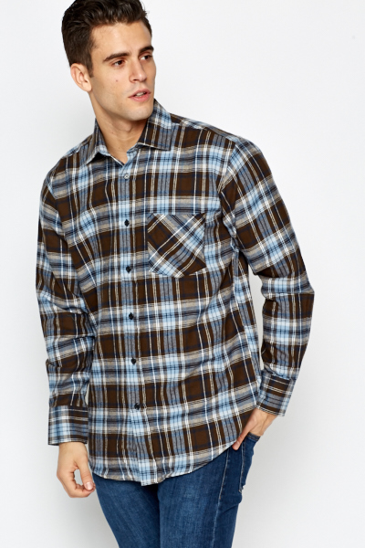 Poison Green Check Shirt