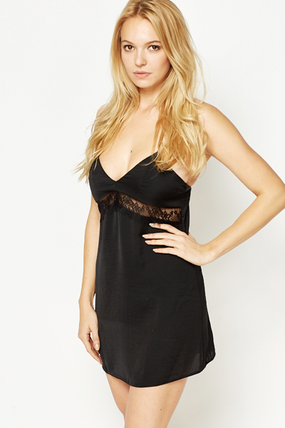 Lace Waist Nightdress