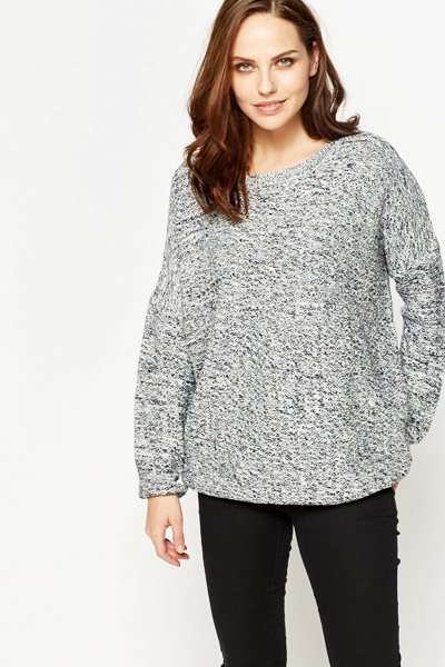 Oversize Speckled Jumper