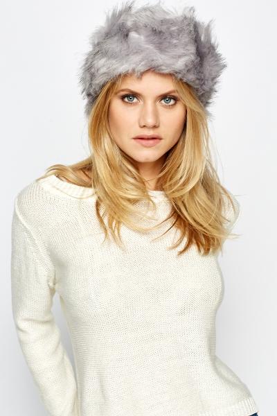 Image of Faux Fur Headband