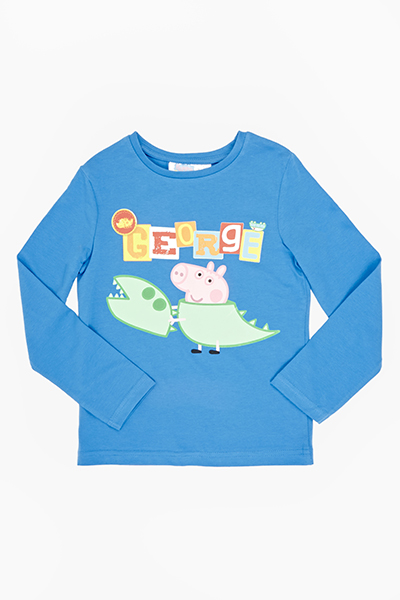 George Pig Blue Top