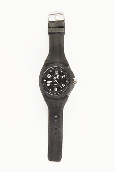 Mens Large Contrast Watch