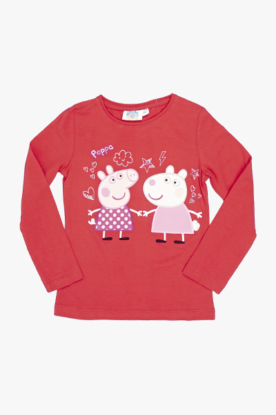 Red Peppa Pig And Suzy Sheep Top