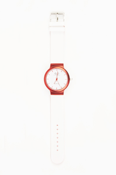 Rubber Two Tone Watch