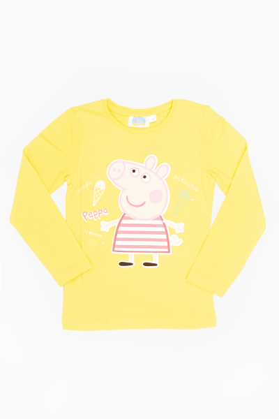 Yellow Peppa Pig Top