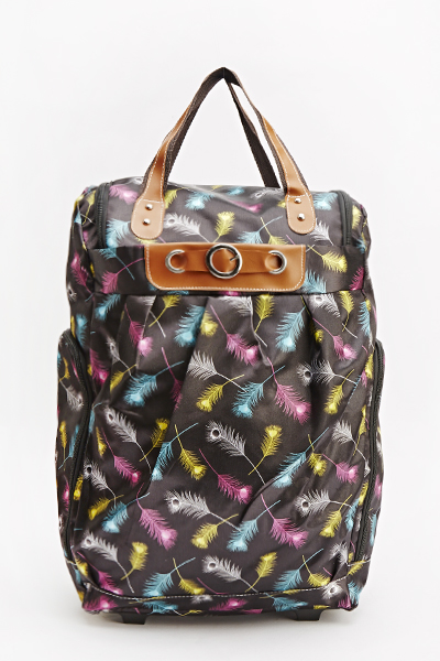 Feather Print Luggage Bag - Just £5 706eeb3fe6b