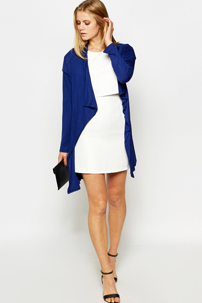 Royal Blue Wrap Cardigan - Just £5