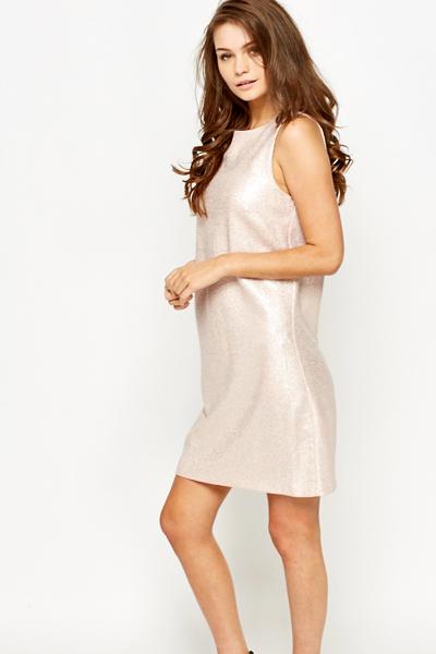 Metallic Pink Dress - Just £5