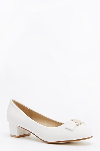 Low Block Heel Shoes - Just $6