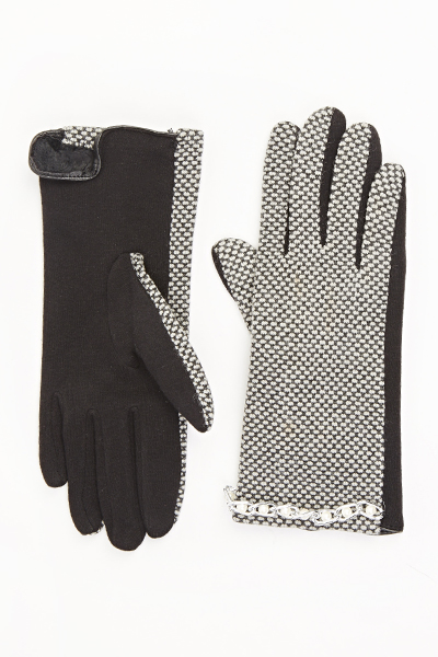 Image of Chain Trim Gloves