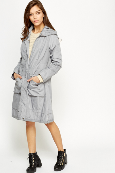 c8f19e359bb2 Longline Parka Jacket - Just £5