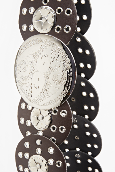 Studded Disc Belt