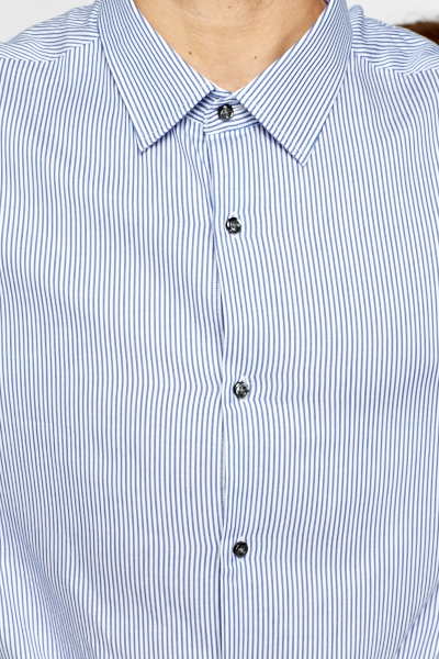 Blue Pinstripe Shirt