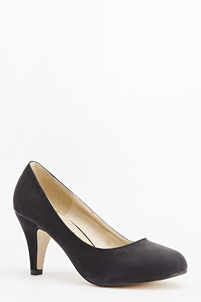Tapered Court Heels