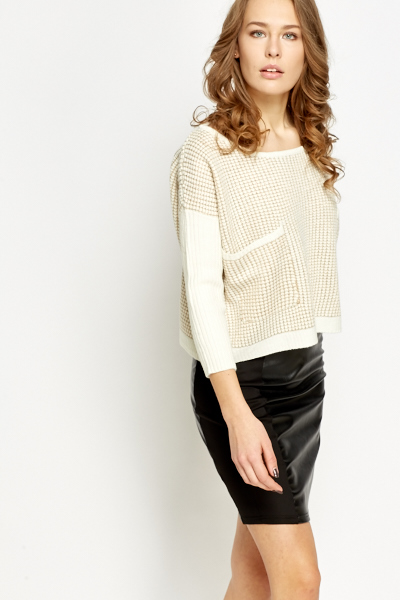 Loose Knit Stripe Jumper