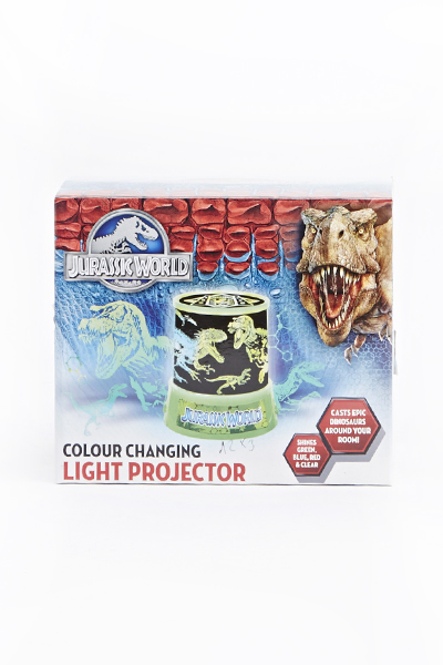 Jurassic World Colour Changing Light Projector