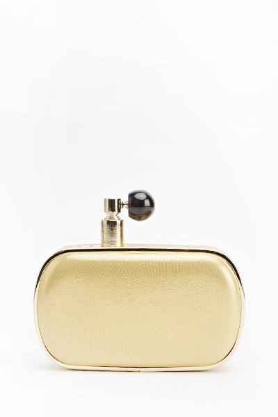 Perfume Design Box Clutch