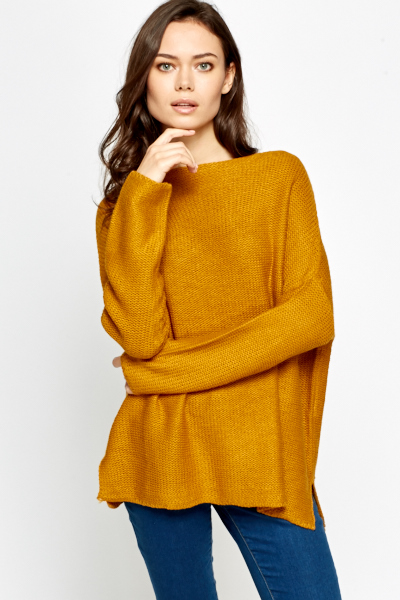96f60a830 Wide Neck Oversized Jumper - Just £5