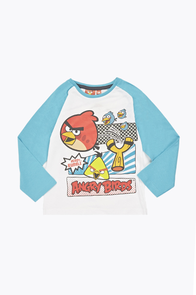 Angry Birds Print Top