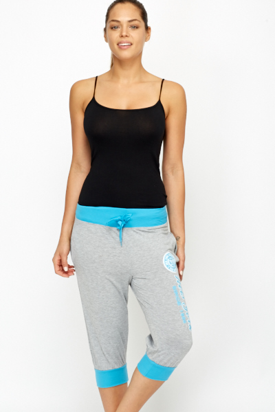 Cropped Gym Trousers