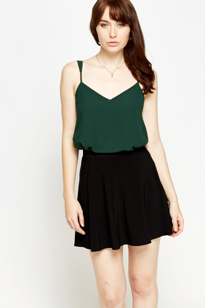 Forest Green Cami Top
