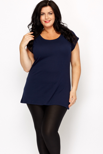 Roll Up Sleeves Casual Top