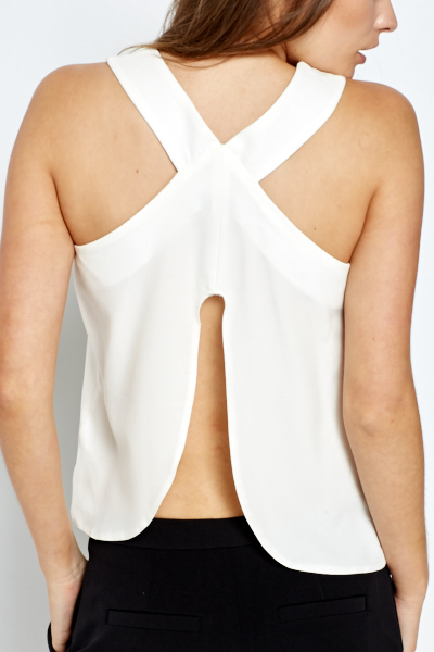 Split Back Shell Top