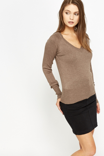 V-Neck Formal Jumper