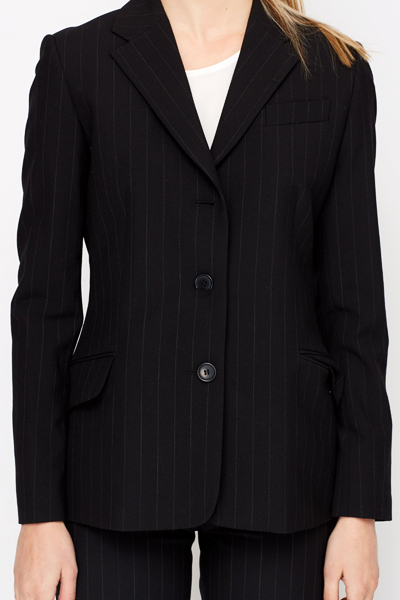 Wool Blend Formal Blazer