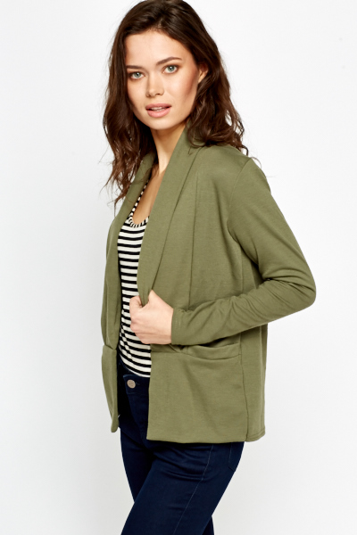 Pocket Side Casual Cardigan