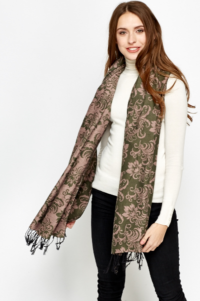 Floral Ornate Scarf